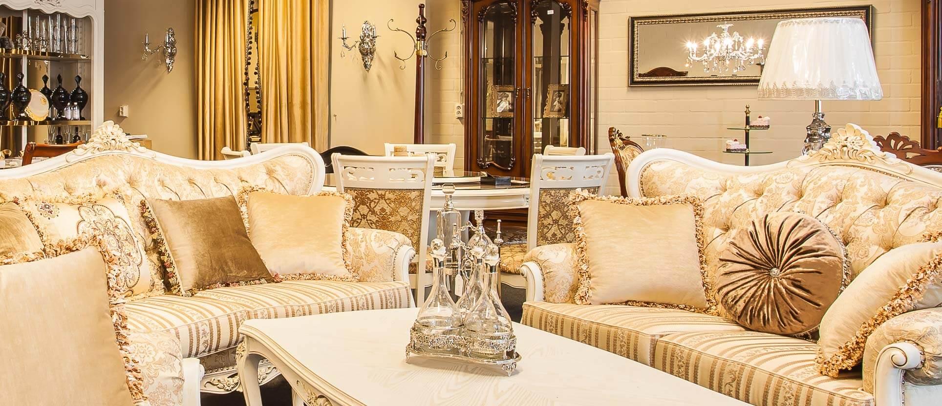 Home baroque exclusieve meubelen - Barokke stijl kamer ...